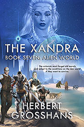 The Xandra: Alien World by Herbert Grosshans